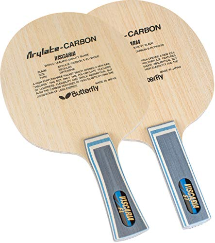 Butterfly Viscaria Table Tennis Blade ALC Blade - Professional Table Tennis Blade - Available in FL, and ST Handle Styles - Made in Japan