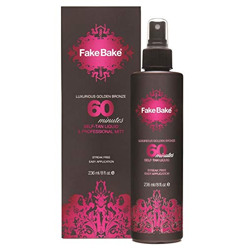 Fake Bake 60 Minutes Rapid Self-Tanning Liquid Spray 8 oz