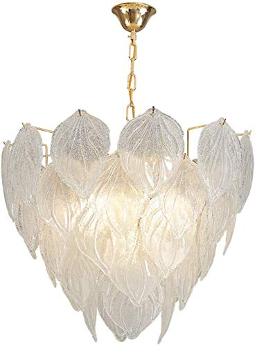 JZX Lámparas para el Hogar, Iluminación de la Novedad, Luz de Techo Lámpara Lámpara Personalidad Artística Posmoderna Ambiente Extravagante Cristalino Del Oro Escandinavo de Iluminación para la Sala
