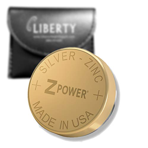 ZPower 312 Rechargeable Hearing Aid Battery - ZPower Battery Silver-Zinc XR41 (1/Pack - Size 312) - Compatible with Hearing Aids Using ZPower Rechargeable Systems