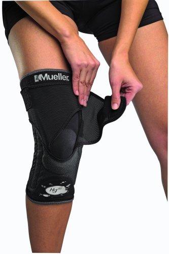 Mueller Kniebandage mit Kevlar Hg80 mit HydrCinn Gewebe, schwarz, S