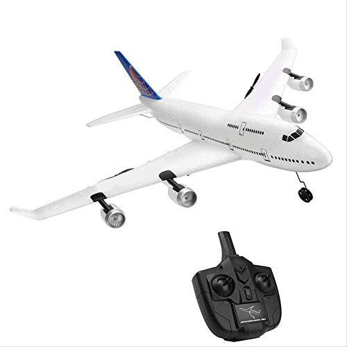 MYKK Avion Planeador RC Avión USB Cargade Seis Ejes Giroscopio Planeador Modelo Juguete Epp Material De Caída Anti-caída para Beginer Niños 510 * 480mm como se Muestra
