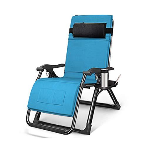 BLWX - Chaise pliante-multifonctionnelle chaise pliante siesta lit chaise déjeuner pause chaise maison loisirs loisir chaise plage Chaise pliante (Couleur : A)