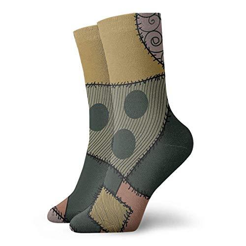 Navidad Acción de Gracias Pesadilla Antes de Navidad Sally Patrón Calcetines Zapatillas Calcetines Para Mujeres Calcetines Divertidos 30cm/11.8inch