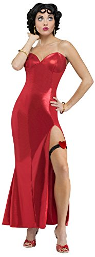 Fun World Costumes Women's Betty Boop (Gown) Adult Costume