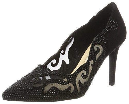 Buffalo Shoes Damen RK 1601-295 Microfiber Pumps, Schwarz (Black 01), 40 EU