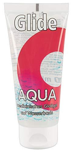 ORION Gleitgel Aqua - medizinisches Gleitmittel auf Wasserbasis für langanhaltende Gleitfreuden, Made in Germany (100 ml)