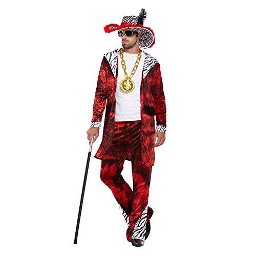 Big Daddy Kostüm (Rot)