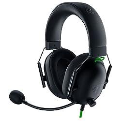 commercial Razer BlackShark V2 X Gaming Headset: 7.1 Surround Sound – 50 mm Driver – Memory Foam Cushion –… razer gaming headset