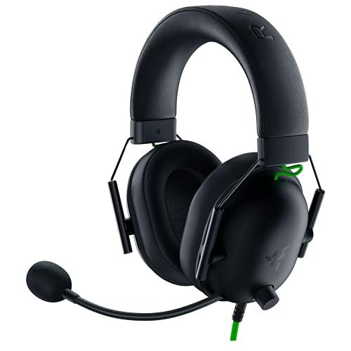 Razer BlackShark V2 X Auriculares para juegos: sonido envolvente 7.1, controladores de 1.97 pulgadas, almohadilla de espuma viscoelástica, para computadora