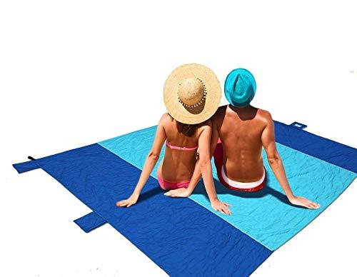 Toalla de Playa impermeabile de Gran tamaño, a Prueba de