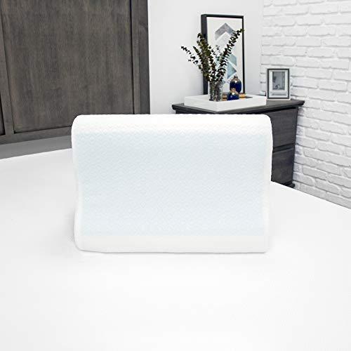 SensorPEDIC Contour Pillow, White