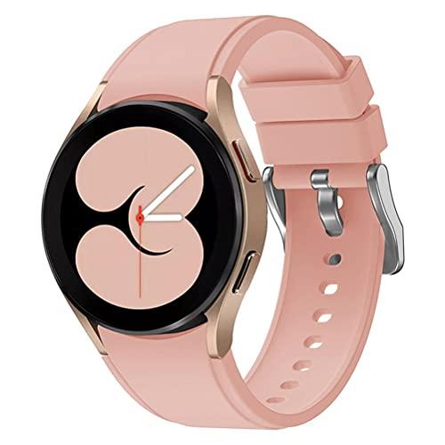 Nuryme Pulsera de Silicona de Repuesto, Pulsera Compatible con Galaxy Watch 4 40 mm 44 mm / Pulseras clásicas de 42 mm 46 mm Correas de Reloj Deportivas de Repuesto Pulsera Intercambiable