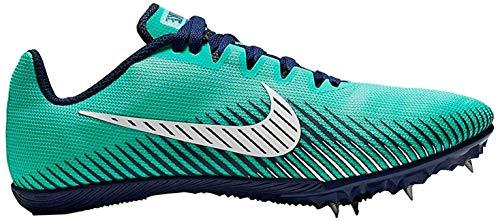 Nike Damen WMNS Zoom Rival M 9 Leichtathletikschuhe, Mehrfarbig (Hyper Jade/Blue Void/Summit White 000), 36.5 EU