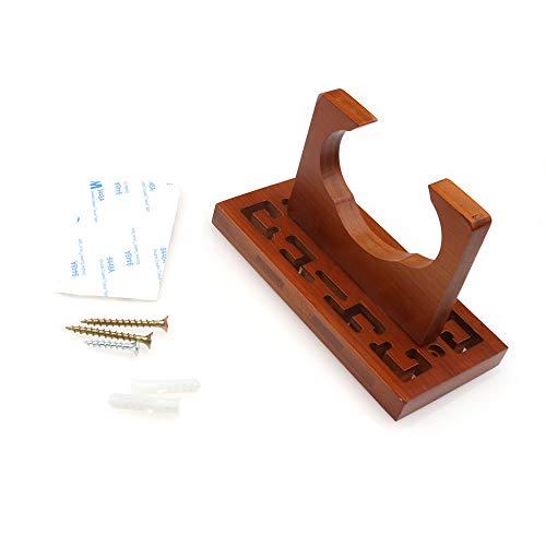 Fesjoy Instruments à Vent et Accessoires, Cintre Mural en Bambou de flûte de cucurbitacée Hulusi...