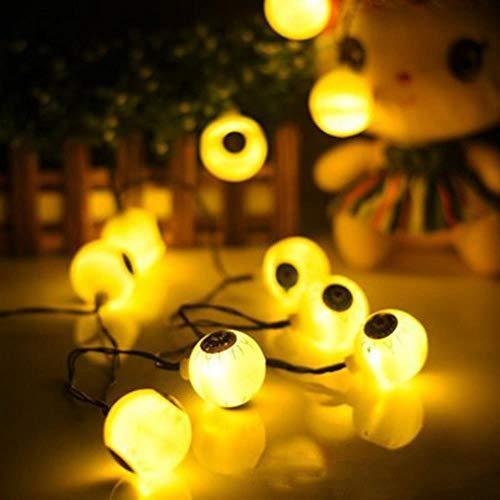 CTOBB 10Lights Halloween Decor Pompoenen/Geest/Spider/Schedel LED String Lights Lantaarns Lamp Voor DIY Thuis Outdoor Party benodigdheden