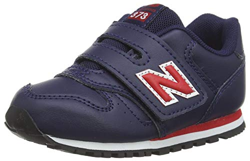 New Balance 373 Blau/Rot (Pigment/Blaze) Leder 27 EU