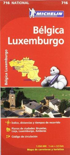 Mapa National Bélgica Luxemburgo (Mapas National Michelin)