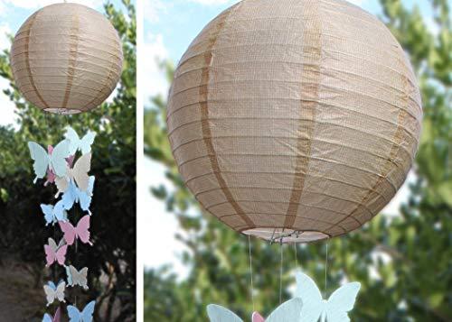 Paper Lanterns, Burlap (TCR77228) Photo #3
