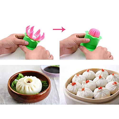 BianchiPamela Steamed Stuffed Bun Making Mold Pastry Pie Steam Bun Dumpling Maker Mould
