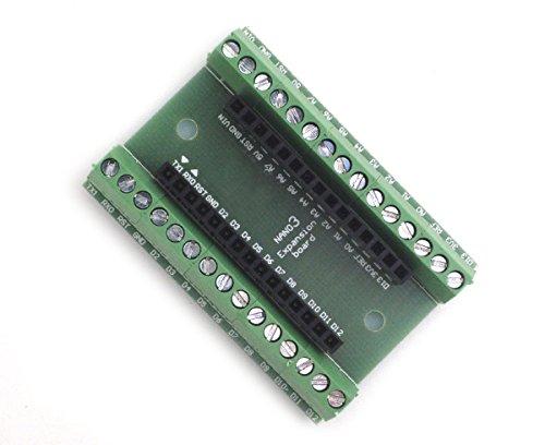 DollaTek Nano Adaptador de Terminal Controlador 3.0 para Tarjeta de expansión de la Terminal Nano for Arduino Nano 3.0 versión