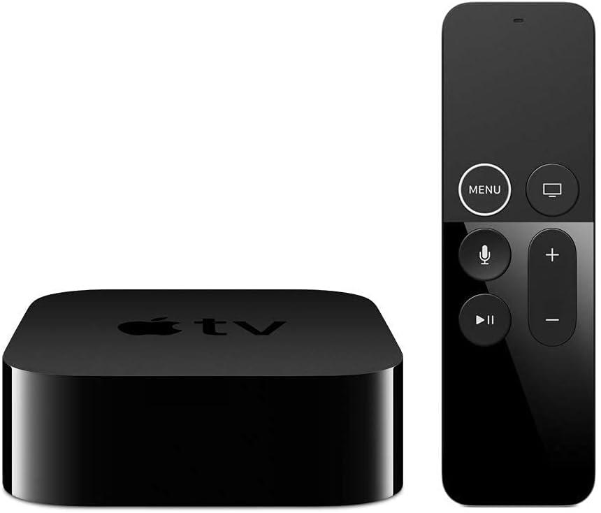 Apple Streaming TV 4K HD Media Player (32GB, 4th Generation, Latest Model) (Renewed)