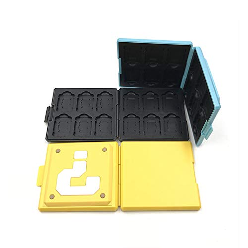 12 in 1 Hard Shell Box for Switch Game Card Protective Shockproof Cartridge Holder Storage Case Box for Nintendo Switch NS NX (Color 10)