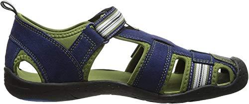 pediped Flex Sahara Sandal (Toddler/Little Kid),Blue,24 EU (7.5-8 M US Toddler)