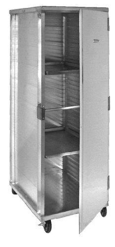 Enclosed Mobile Aluminum Pan Rack All Welded Holds 40 Pans ETL Cert AAR-40