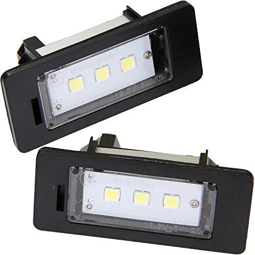 TOP Led Kennzeichenbeleuchtung mit E-Prüfzeichen sehr helle weiße Kennzeichen Beleuchtung Nummernschild