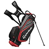 TaylorMade Select ST Stand Bag, Red/Black