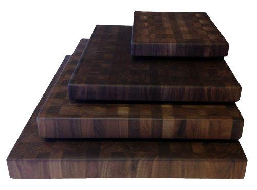 Walnut Cutting Boards End Grain Hardwood Butchers Chopping Block Size:...