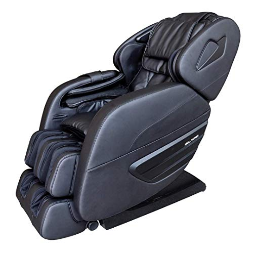 For Sale! HealthPro Premier 3D Black Massage Chairs with 11 Preprogram Modes | Ultra Long 49 Massag...