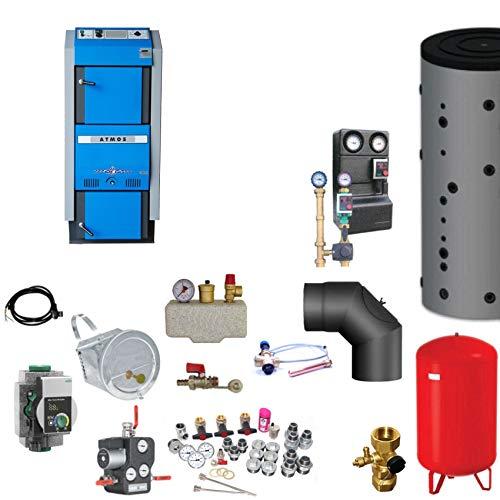 Atmos GSX70 Scheitholzvergaser/Holzvergaser 70 kW Komplettset 3