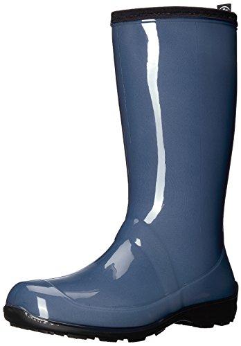 Kamik Women's Heidi Rain Boot, Blue Jeans/Denim, 8 Medium US