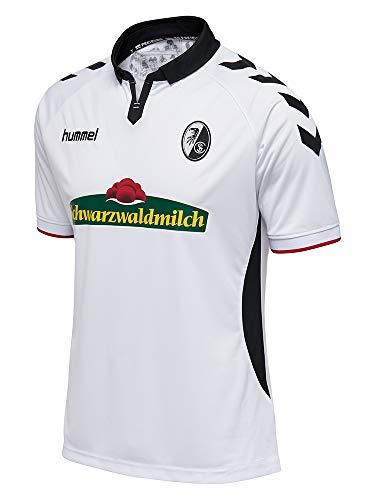 Hummel Jungen SCF Away Jersey KA 17-18 Trikot, White/Black, 164