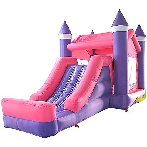 FYHpet Casa Inflable de Bounce House Kids Castle Humping Bouncer con soplador de Aguas Pesado Diapositiva de Agua de Agua Partido al Aire Libre Play Play Play Play Sets para Patios Traseros