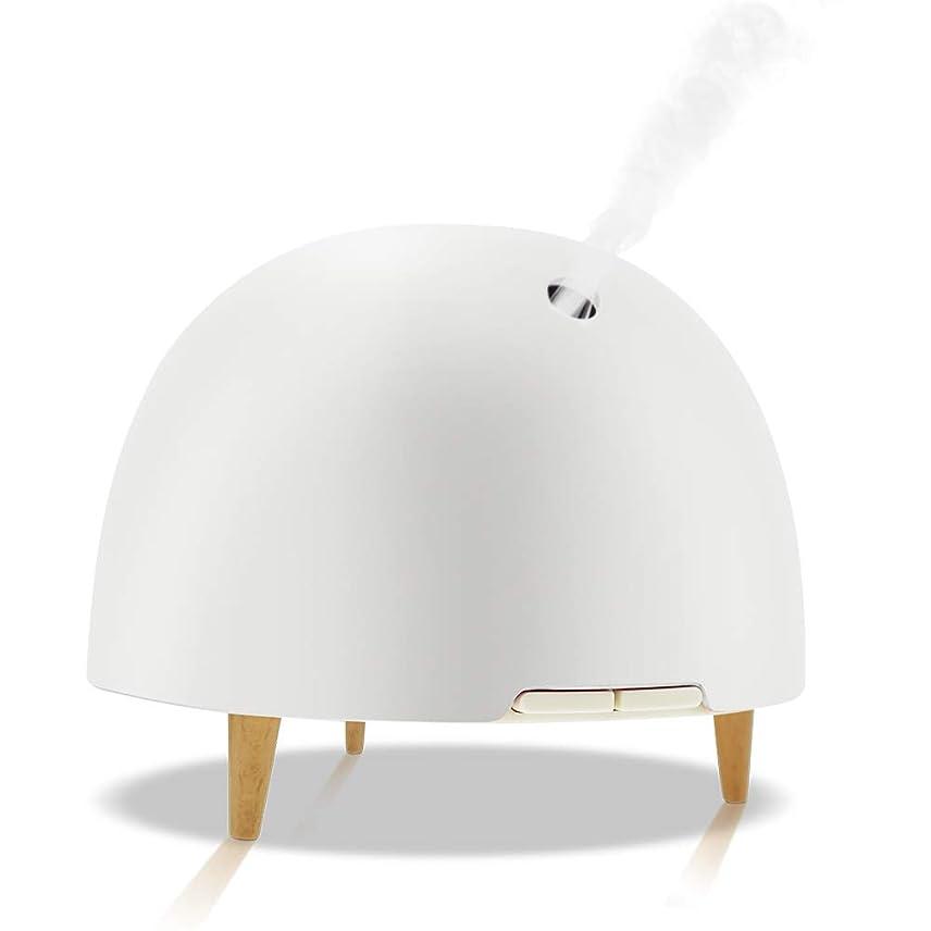 管理助けになる比べる純粋なエッセンシャルオイルアロマテラピーマシン、アロマテラピーエッセンシャルオイルディフューザークールミスト加湿器7色ライト、家庭用、仕事,White