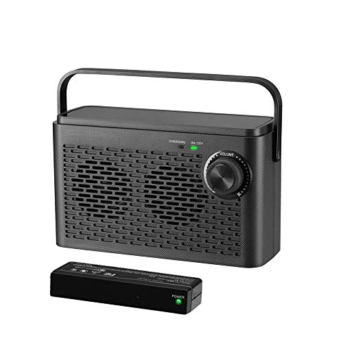Wireless TV Speaker for Seniors, Sophinique TV SoundBox Wireless TV Listening Speaker for Hearing Impaired, Portable TV Speakers Gifts for The Elderly (TV Must Have 3.5mm Jack or Audio Out)