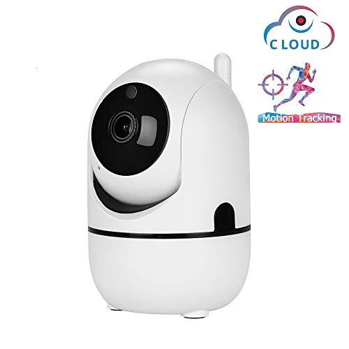 Camera met, wifi 1080HP multi-platform is geschikt voor nachtzicht, bidirectionele audio-alarmfunctie, geschikt voor thuiskantoor, huisdierenbaby, anti-diefstal,1080P + 32GB memory card