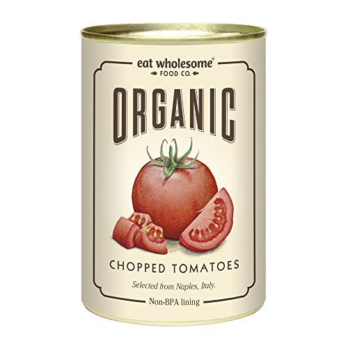 Eat Wholesome Organic Chopped Tomatoes 400g (Pack of 12)