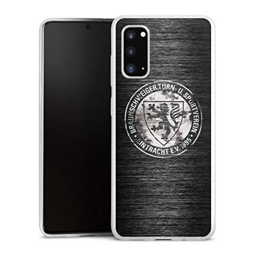 DeinDesign Slim Case kompatibel mit Samsung Galaxy S20 Silikon Hülle Ultra Dünn Schutzhülle Offizielles Lizenzprodukt Logo Eintracht Braunschweig