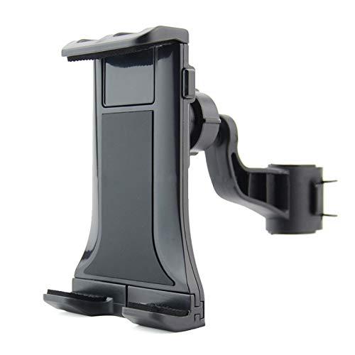 ZRNG A Prueba de Golpes rasguño Anti ABS El Soporte de Apoyo for la Cabeza Interior 360 Grados rotativo del Titular del teléfono de la Tableta Soporte del Asiento Trasero de sujeción