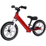 DREAMyun Bicicleta sin Pedales para niños y niñas 3-6 años | Bici con Ruedas de 12' Edición Sport con sillín y manubrio Regulable,Rojo