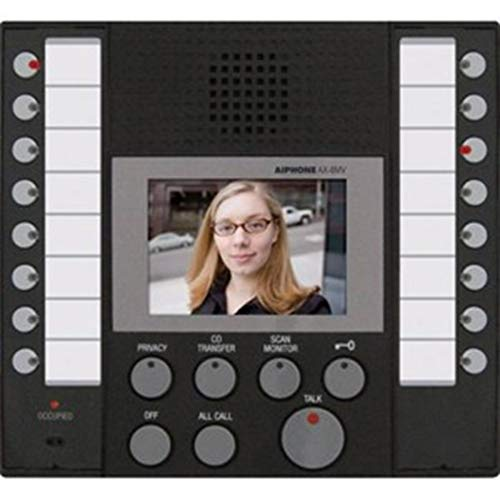 Aiphone AX-8MV Audio/Video Master Station for AX Series Integrated Audio & Video Security System Color Sub Master Station