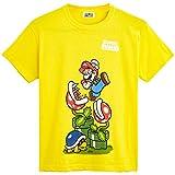 Super Mario Camiseta Niño, Ropa Niño Algodón 100%, Camisetas de Manga Corta con Personaje Mario Bros, Merchandising Oficial Regalos para Niños y Adolescentes Edad 5-12 Años (11-12 años)