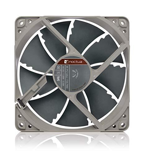 Noctua NF-P12 redux-1700 PWM, Ventilador de Alto Rendimiento, 4 Pines, 1700 RPM (120 mm, Gris) 3