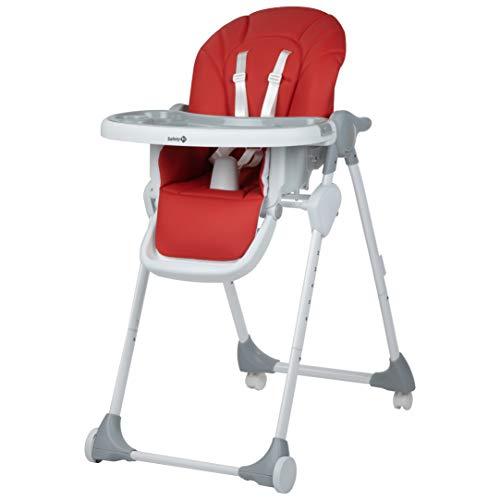 Safety 1st Looky Chaise Haute enfant évolutive multipositions,6 Mois à 3,5 Ans, Red Campus