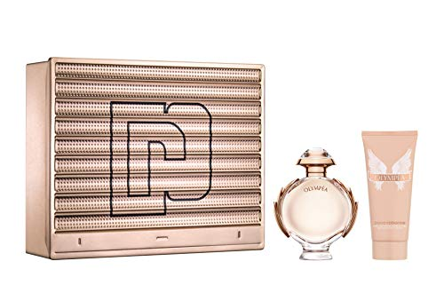 Paco Rabanne Olympea Eau de Parfum & Sensual Body Lotion Set Regalo Per Lei
