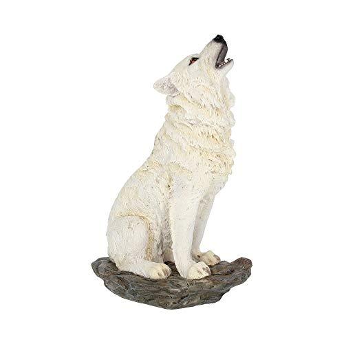 """""""Heulender Wolf""""-Figur von Nemesis Now"""